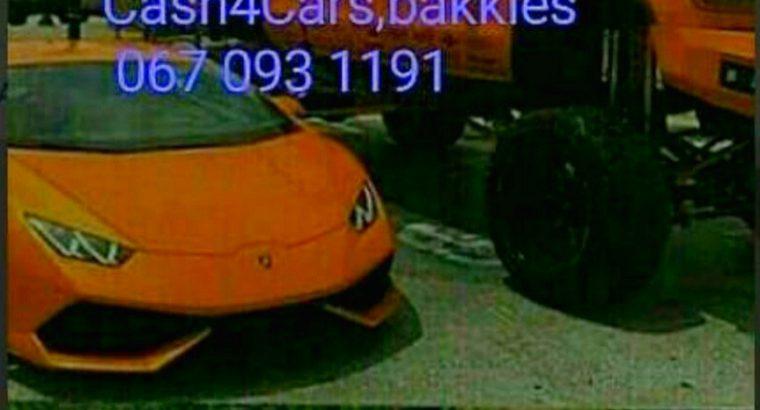 Cash for Cars Suvs Bakkies Gauteng
