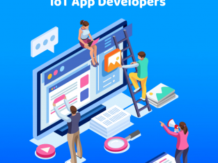 Hire IoT app developers to improve your business