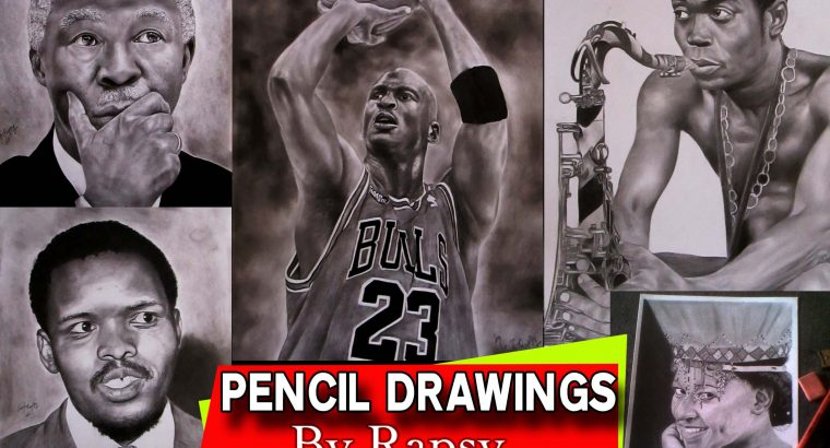 PENCIL DRAWINGS AND PAINTING ARTIST
