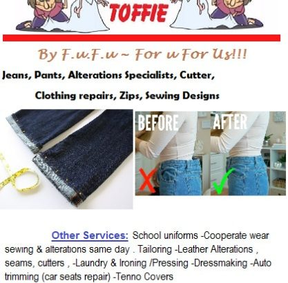 Tailors, Leather Wear, Repairs and Trimmers