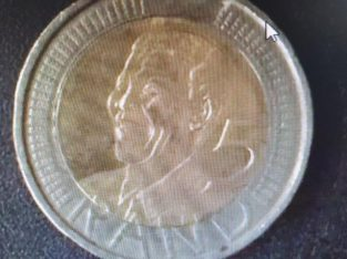 R5 MANDELA HEAD COIN
