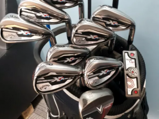 Callaway XR stiff RH golf clubs plus 1 length