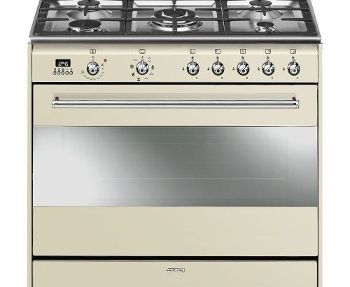 Smeg 90cm Vintage Cream Concert Cooker SSA91MAP9