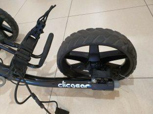 clicgear golf Push Cart trolley Black