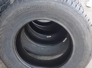 Set of 4 x 155/80/13 (New) Tyres.
