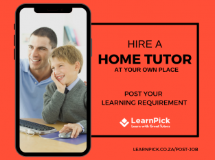 Find The Best Home Tutors In Cape Town