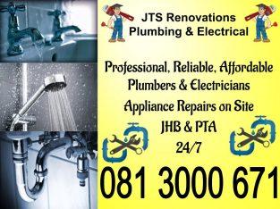 Plumbers & Electricians Germiston