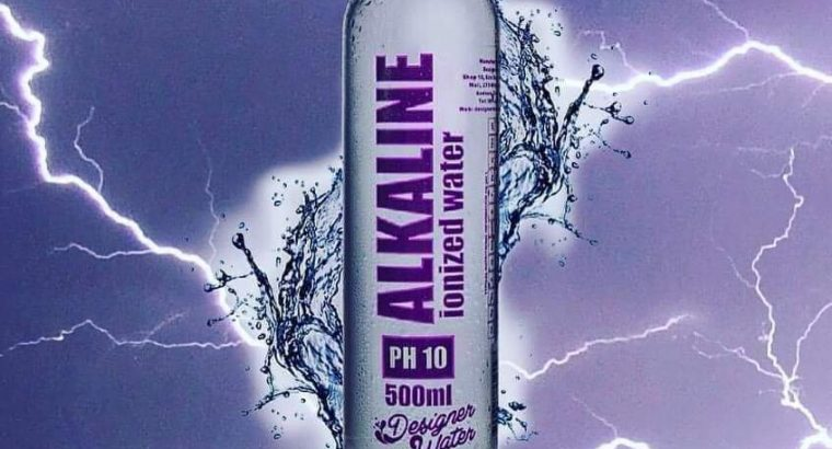 Supercharged alkaline ionized water