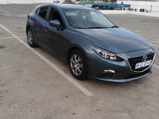 Mazda 3 2016 with 21000 kilos on the clock