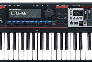 The Roland Juno-Gi is a digital synthesizer
