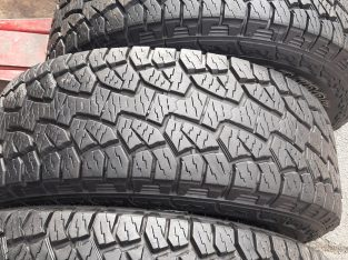 Set of 4 x 265/65/17 Hankook Dinapro Tyres