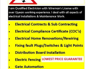 QUALIFIED&REGISTERED ELECTRICIAN