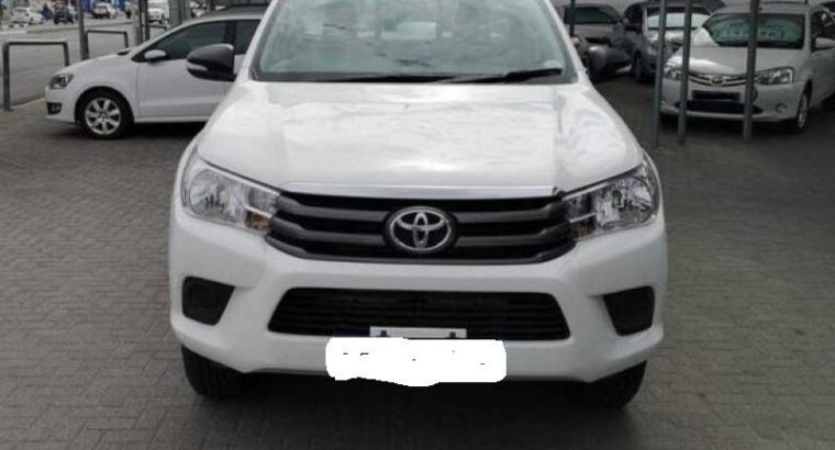 toyota hilux 2017 2.4 diesel for sale