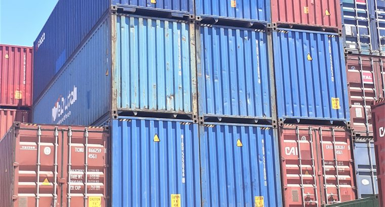 Shipping Container Sales and Conversions