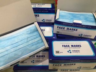 Wholesale 3 ply Disposable Face Mask