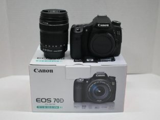 Canon EOS 70D Digital Camera With 18-135mm Lens