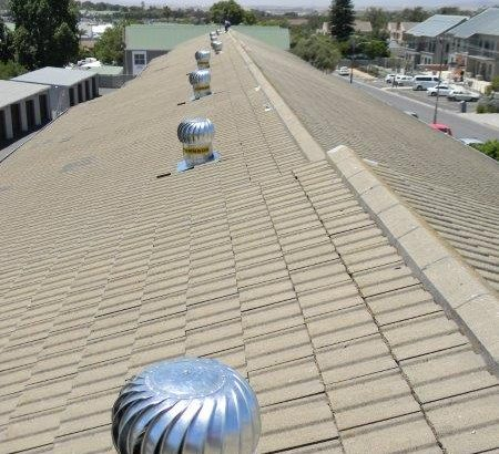 Roof turbines for ventilation