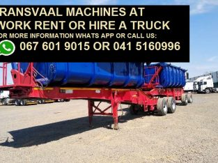 Transvaal Machines 34 TON FOR HIRE OR RENT