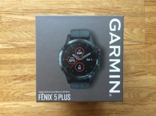 Garmin Fenix 5 plus Sapphire Multisport GPS Watch