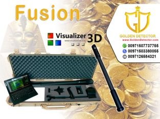 Fusion 3D metal detector Available at golden detec