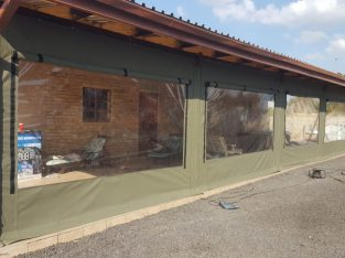 Patio covers / Outdoor blinds covers