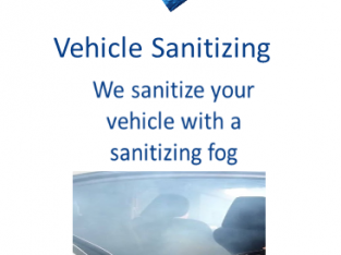 Vehicle Sanitizing and Property Cleaning