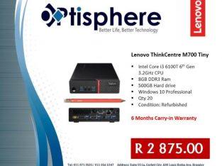 Lenovo Thinkcentre M700 Tiny