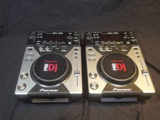 PIONEER CDJ 400s X 2