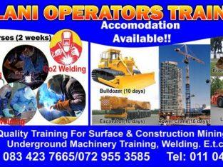 Mulani operators training school for earth moving