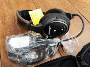 Bose A20 Aviation Headset with Bluetooth Dual Plug