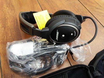 Bose A20 Aviation Headset with Bluetooth Dual Plug