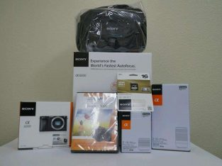 Sony Alpha A6000 Bundle Camera