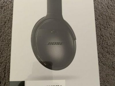 Bose QC35 II Noise Canceling Wireless Headphones