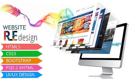 Website Re-Design From R 500