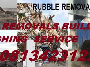 RUBBLE REMOVALS BUILDING DEMOLISHING 0813423122