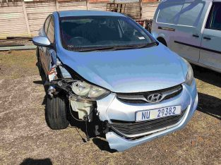 2013 Hyundai Elantra 1.6 GLE For sale *Accident Da