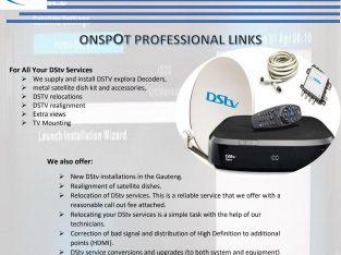 DSTV Installations Johhannesburg