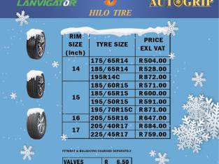 Cheapest Tyre Dealer & Fitment Centre In Boksburg