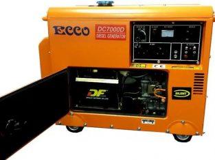 5.5 KVA Ecco silent diesel generator for sale