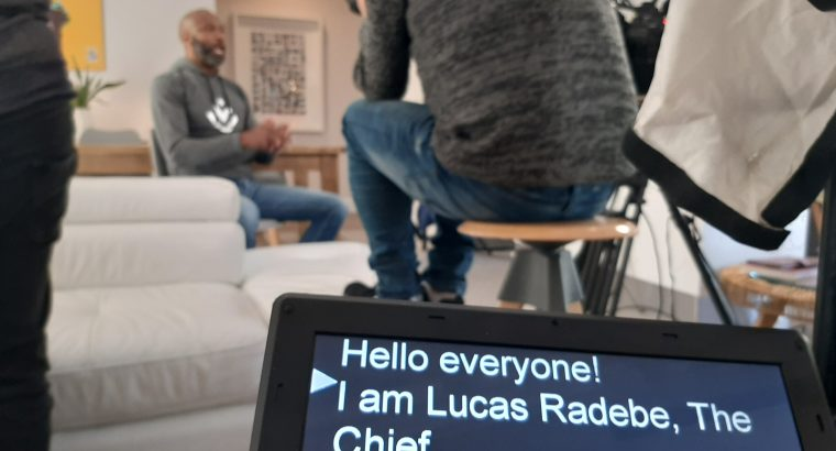Autocue/ Teleprompter and Livestreaming Services