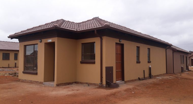 House for sale in a new development