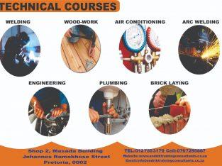 Boillermaker / welding courses in Pretoria NOW