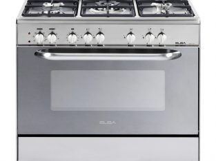 ELBA 900mm 5 Burner Gas Electric Stove Stainless s