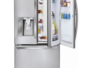 LG – Door-in-Door 28.6″ French Door Refrigerator