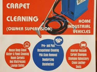 Cleaning – Home – Office – Vehicle
