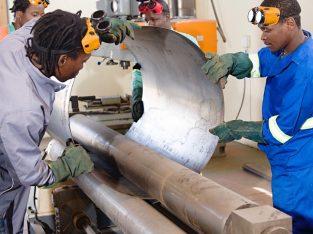 Boiler making, Argon welding, stick welding in