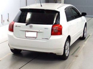 vehicles used new white automatic toyota runx cars