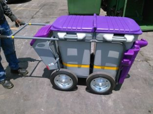 200MM DOUBLE BINS