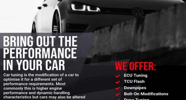 Vehicle Software Tuning and Modifications