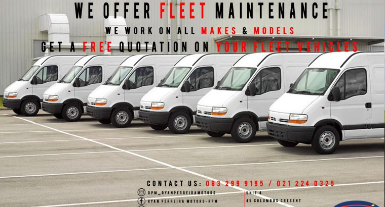 Fleet Servicing & Repairs